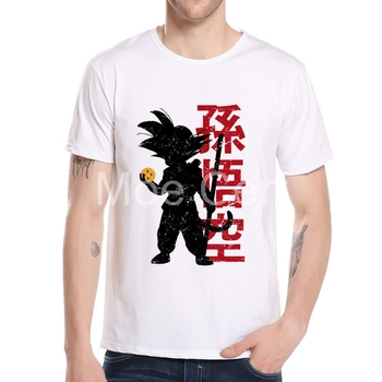 MOE CERF 2019 New Arrivals Funny Dragon Ball T Shirt Men Cool Anime Cartoon Son Goku Design Printed Tops Hipster Tee L9-L-8