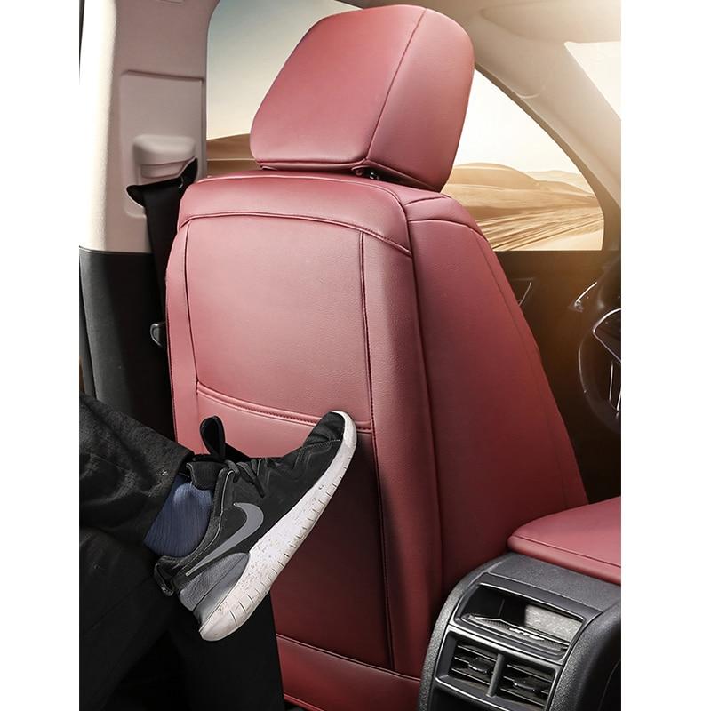 Kokolololee housse de siège de voiture en cuir sur mesure pour FOTON Midi V5 G9 im6 ix5 ix7 SAVANNA pour QOROS 3/5 Automobiles housses de siège auto - 3