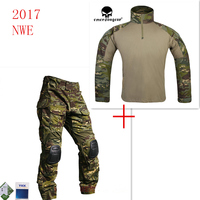 Emersongear G3 Combat Shirt&Pants With Knee Pads Waterproof Training Clothing Airsoft Tactical Gear Multicam Tropic MCTP Emerson