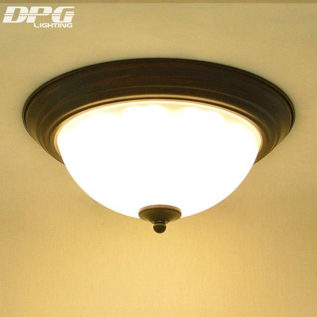 LED Ceiling Lamp Fixtures for Home Living Room Bedroom Lights Surface Mounted Iron E27 110v 220v