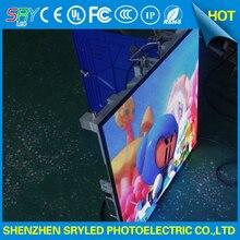 P6 закрытый полноцветный светодиодный дисплей литой алюминиевый корпус 576 мм * 576 мм Тонкий Прокат 1/16 просмотров панели billboard под экран