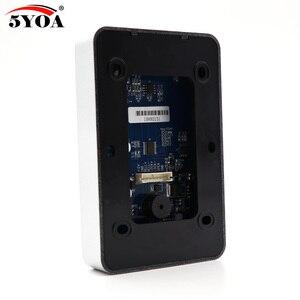 Image 3 - Samodzielny kontroler dostępu z 10 sztuk EM breloki do kluczy RFID klawiatura kontroli dostępu wyświetlacz cyfrowy czytnik kart dla system blokady drzwi