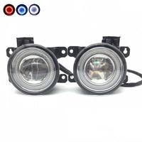 Car Styling 2in1 LED Angel Eyes DRL Cut Line Lens Fog Light for Citroen C3 C4 C5 C6 C Crosser Berlingo DS3 DS4 DS5 Xsara Picasso