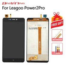 Bingying Leagoo Power 2 Pro 터치 스크린 + LCD 디스플레이 어셈블리 교체 용 새 원본