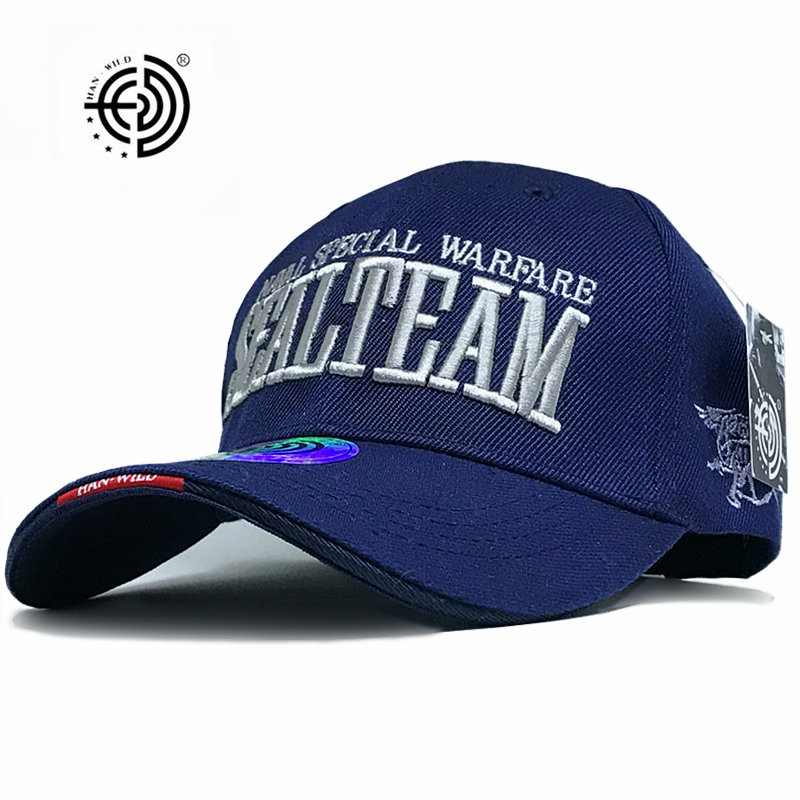 [HAN WILDEN] marke Genuine New Hot UNS Armee Baseball Caps Navy SEALs...