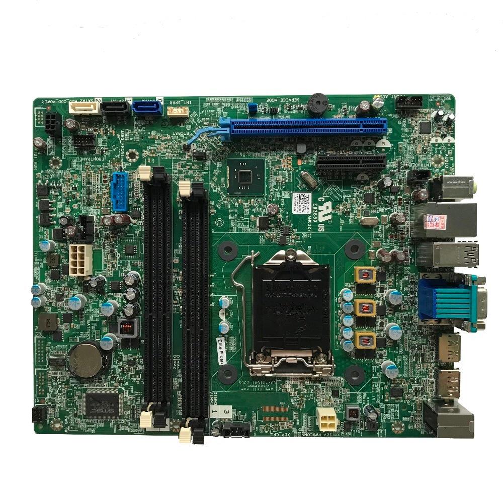 Hot Excellent CN 0XCR8D For DELL Optiplex 9020 SFF Desktop Motherboard LGA1150 DDR3 Q87 0XCR8D 100