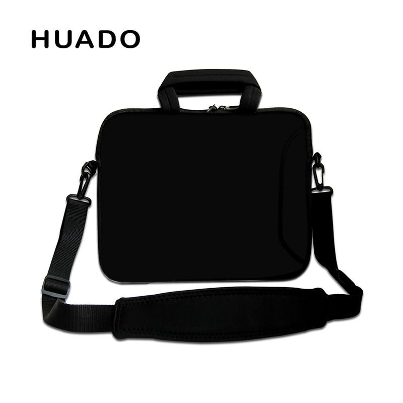Black laptop bag 15.6