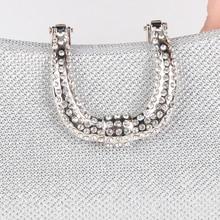 Diamond Evening Clutch Bag Women For Wedding & Banquet Parties