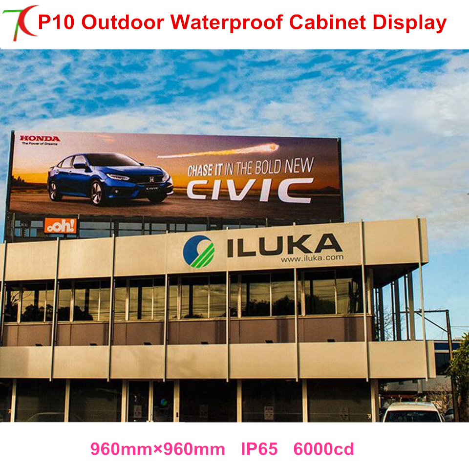 P10 outdoor waterproof SMD full color cabinet screen for advertisement led video wallP10 outdoor waterproof SMD full color cabinet screen for advertisement led video wall