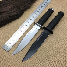 2 Option Cold Steel 39LSFD Leatherneck SF D2 Blade Tactical Fixed Knife ABS Handle Hunting Knife Camping Survival Knife K Sheath