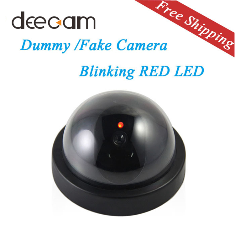 fake camera deecam home outoodr dummy camera videcam cctv camera dummy surveillance security. Black Bedroom Furniture Sets. Home Design Ideas