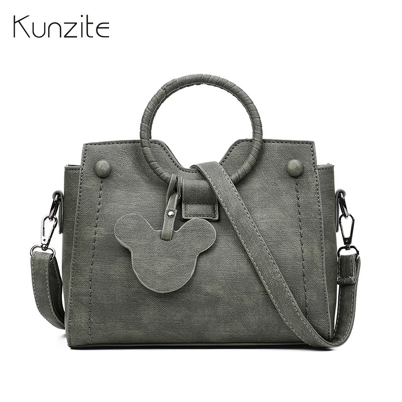 Kunzite Brand New 2018 Donne Borse Sac Principale Crossbody Borse Del Progettista di Alta Qualità PU Leather Flap Borse Mujer Hot
