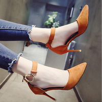 Women Pumps Red Bottom High Heels Women Shoes Fashion Buckle Pumps Sandals Spring Autumn Casual Platform