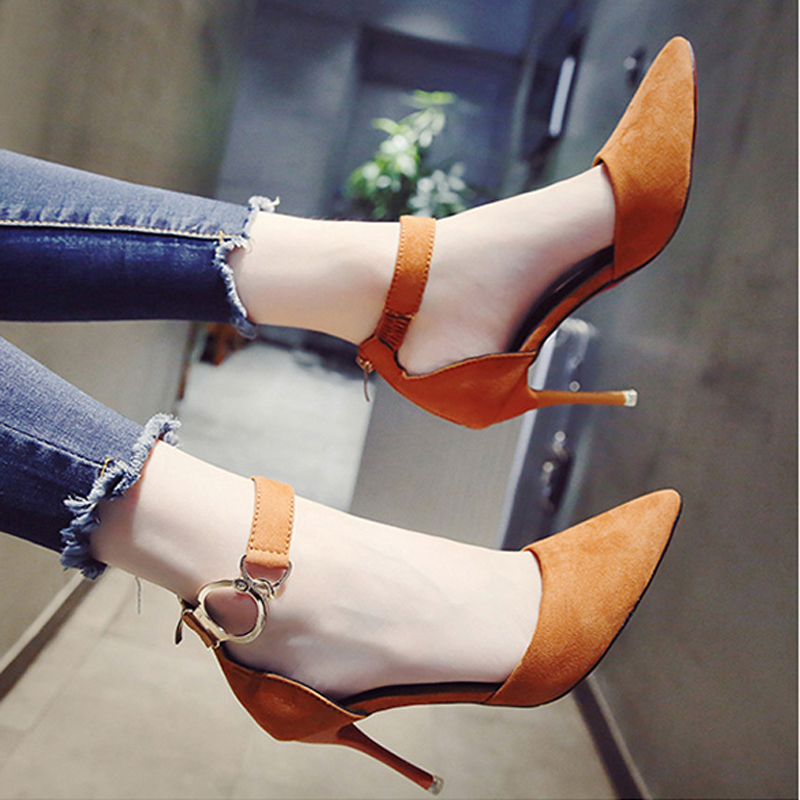 Women Pumps Red Bottom High Heels Women Shoes Fashion Buckle Pumps Sandals Spring Autumn Casual Platform Party Wedding Shoes 2017 free shipping siketu spring and autumn women shoes sex high heels shoes wedding shoes pumps g194
