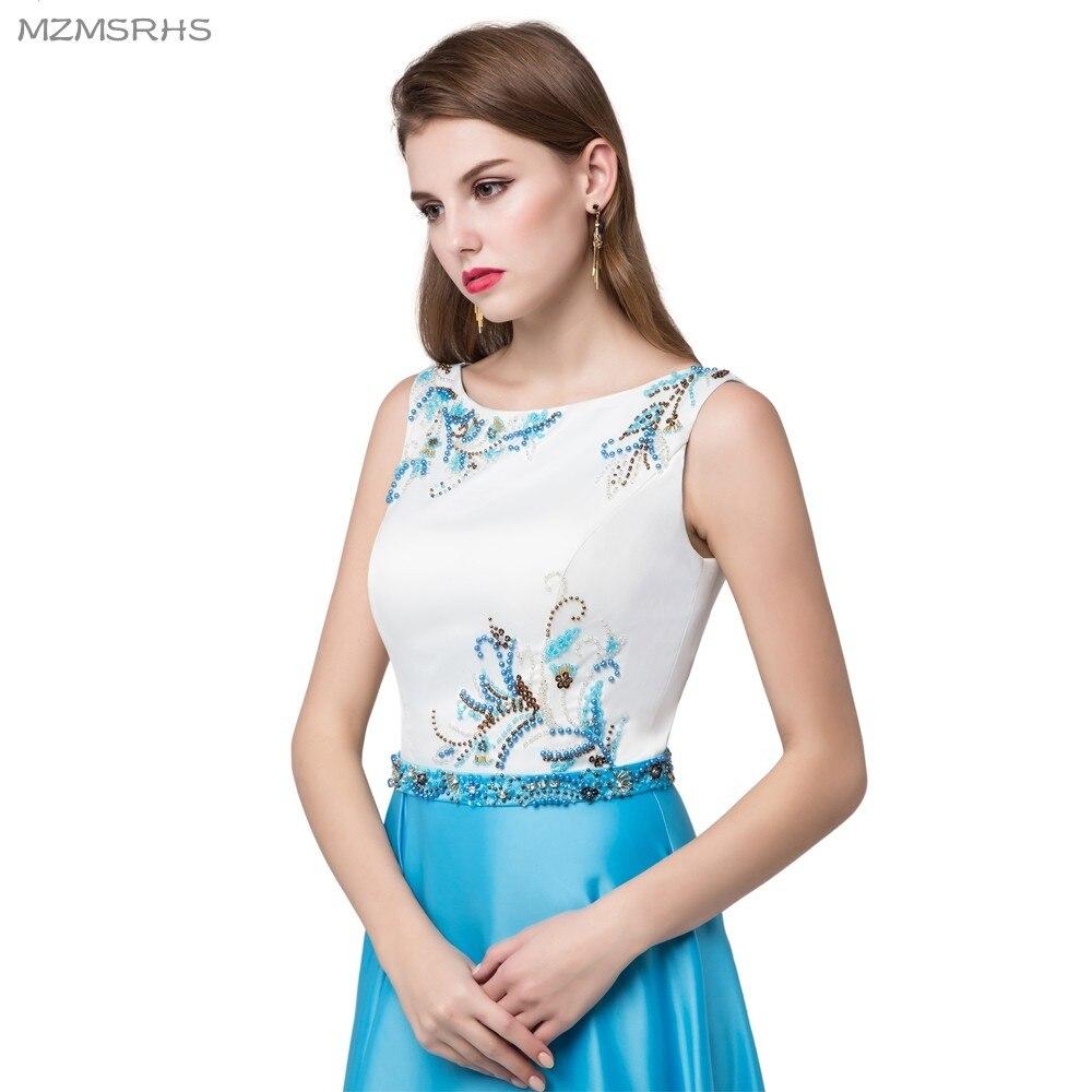 Robe De Soiree Vestido de noche elegante con abalorios de satén y - Vestidos para ocasiones especiales - foto 4