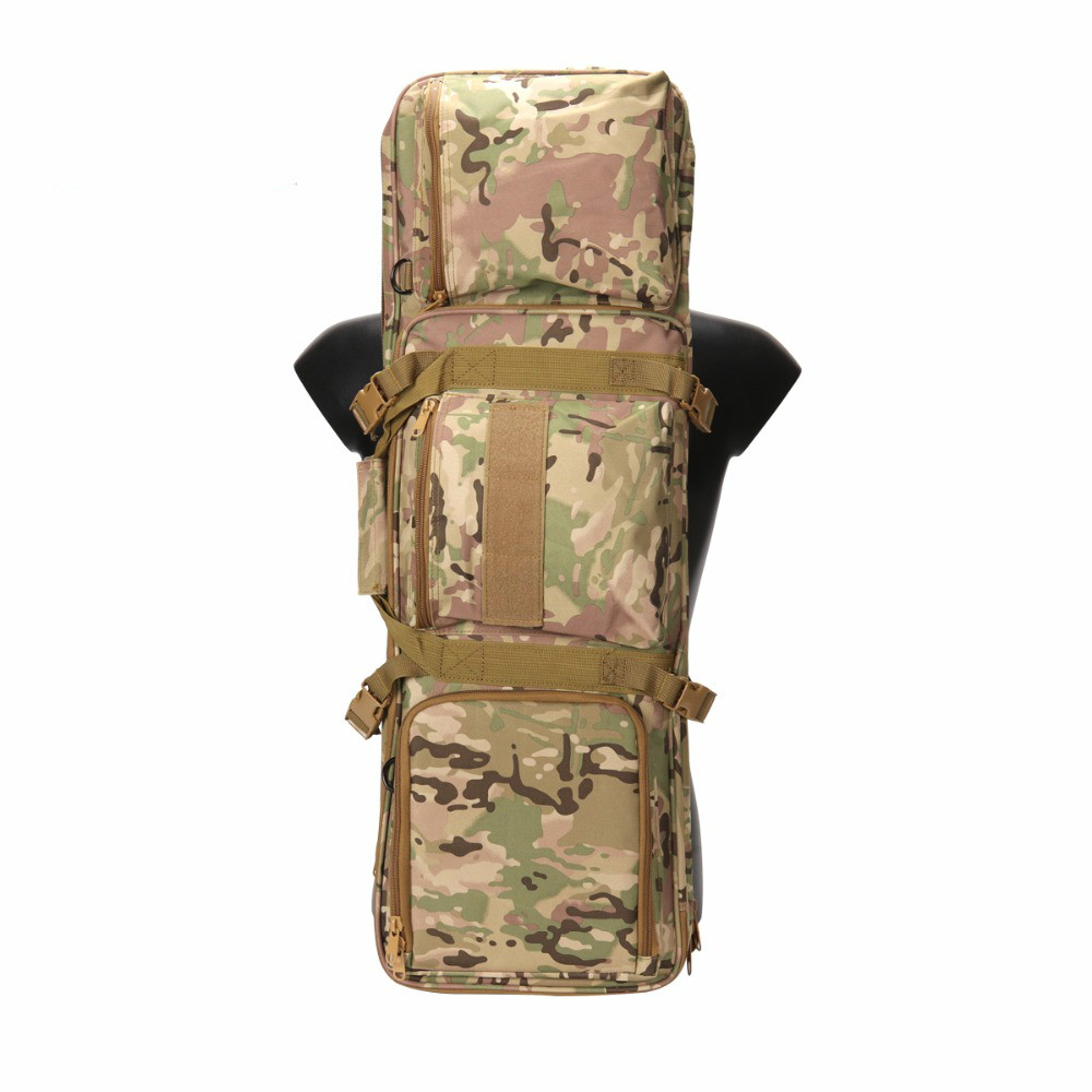 Tactical 85cm/33.5'' Gun Backpack with Protable & Shoulder Strap Military Airsoft Shotgun Carrying Case Hunting Accessories-in Hunting Gun Accessories from Sports & Entertainment