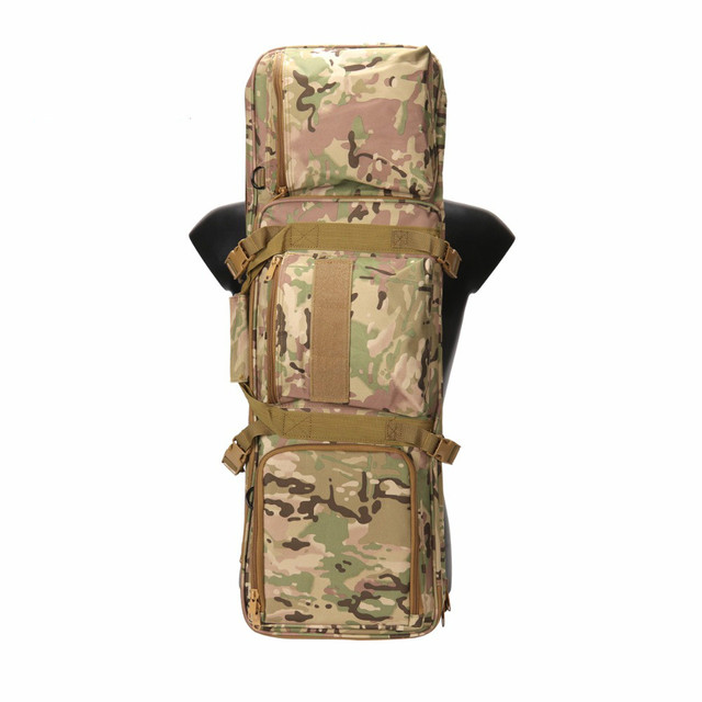 Tactical 85cm/33.5 Gun Backpack with Protable & Shoulder Strap Military Airsoft Shotgun Carrying Case Hunting Accessories