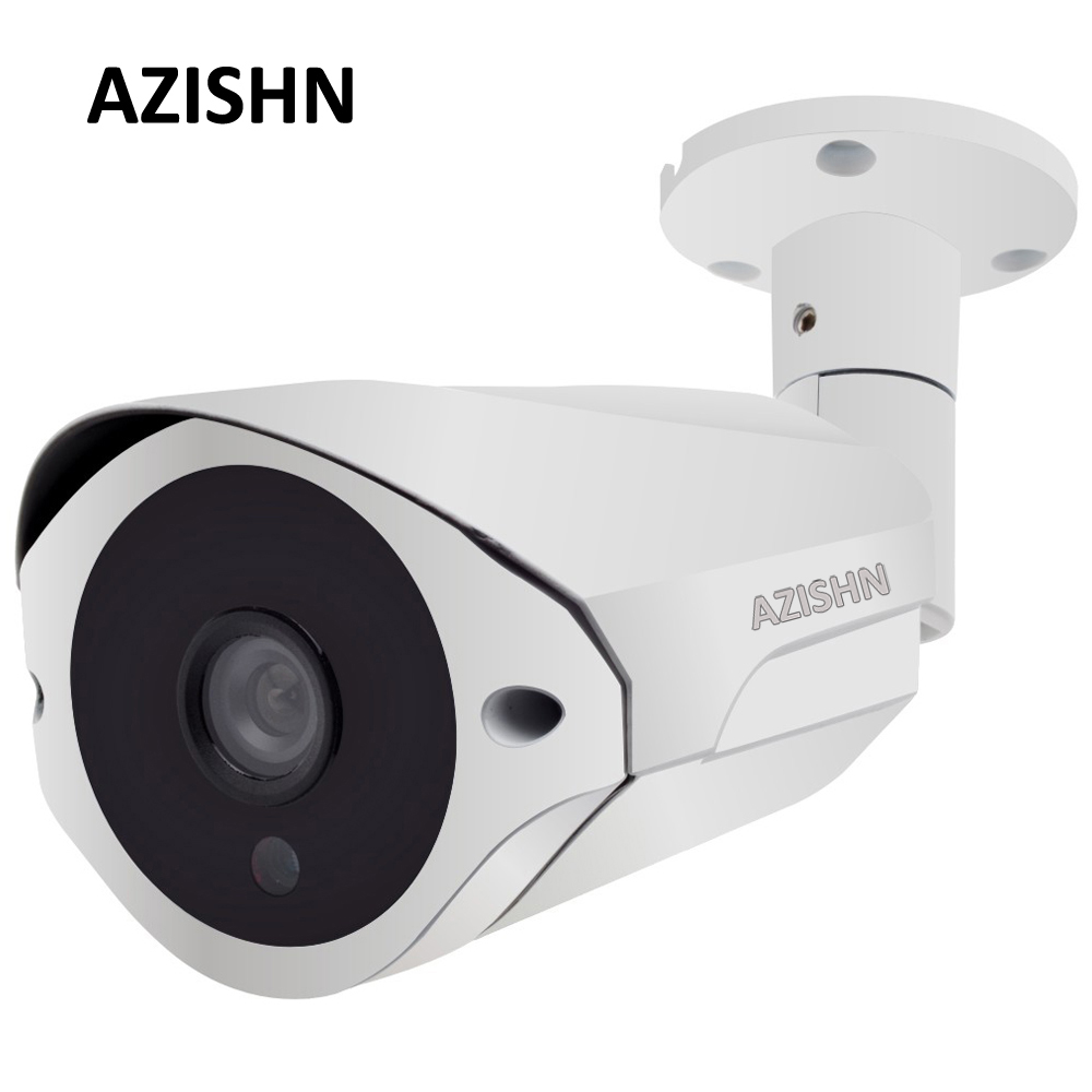 NEW 4MP IP Camera ONVIF H.265/H.264 Surveillance CCTV Camera Hi3516D+1/3OV4689 25fps 36pcs IR LEDS Outdoor IP66 metal white cctv camera housing metal cover case new ip66 outdoor use casing waterproof bullet for ip camera hot sale white color wistino