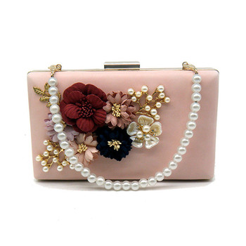 Fashion colorful flowers party ladies evening clutch bags appliques chain women shoulder crossbody bags with luxury.jpg 350x350