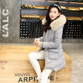 Manteau Femme 2016 Winter Women Down Jackets and Coats Women High Quality Slim Warm Thickening Warm Parka Coat FB6029
