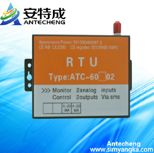 wireless monitoring system for temperature station with data acquisition system