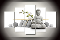 2017 HD Printed Stone Buddha Painting Canvas Print Room Decor Print Picture Canvas Drop Shipping