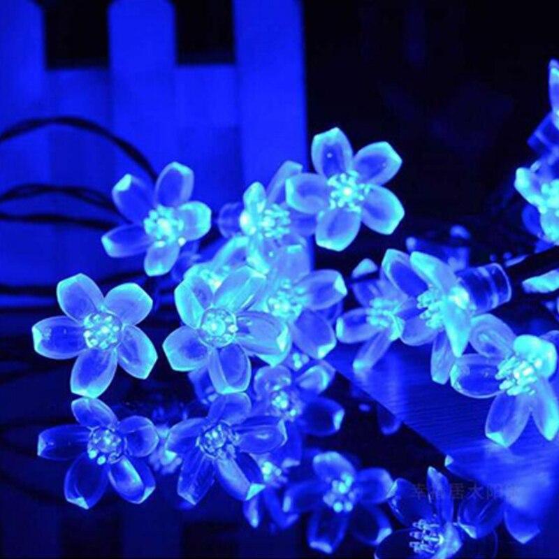 cheapest 10 20 Bulbs LED Solar Lamp String Lights Balls Waterproof Balcony Porch Fairy Lights Outdoor Solar LED Lights Garden Decoration