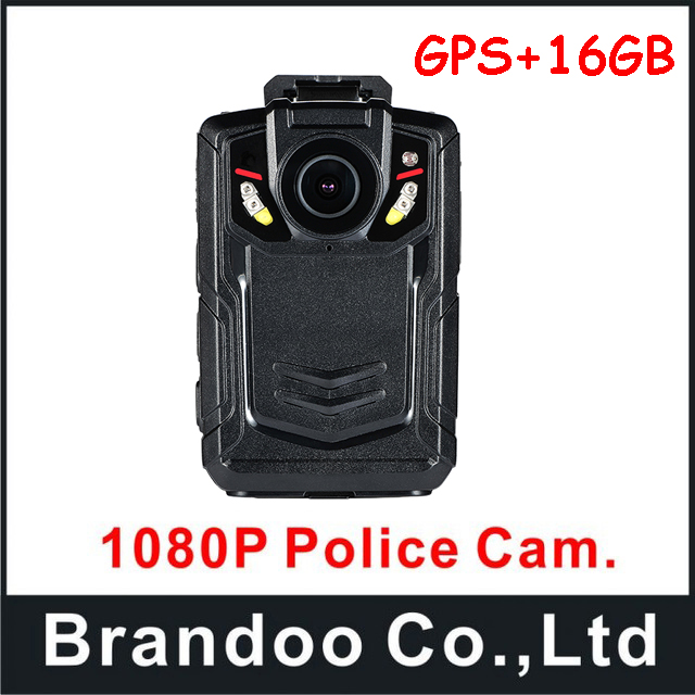 A12 1080P full HD police body camera with GPS function for police use