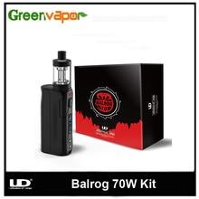 เดิมY Oude UDบุหรี่อิเล็กทรอนิกส์Balrog 70วัตต์TCพร้อมแบตเตอรี่3มิลลิลิตรBalrogถังฉีดน้ำTC/VWกล่องสมัยVape Vaporizer