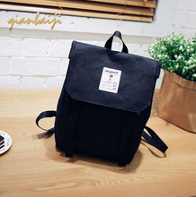 Woman Backpacks Canvas Bagpack Shoulders Bags School Student Bag Leisure Backpack Laptop Mochila Casual Preppy Style Back Pack durable casual canvas laptop backpack blue color shoulders bag 9023k