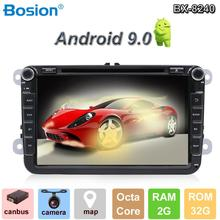 Android 9.0 Car Multimedia player 2 Din Car DVD For Volkswagen/Golf/Polo/Tiguan/Passat/b7/b6/SEAT/leon/Skoda/Octavia Radio GPS 10 2 32g 2 5d ips android 8 1 car dvd multimedia player gps for volkswagen vw passat b6 b7 2011 2015 radio stereo navigation