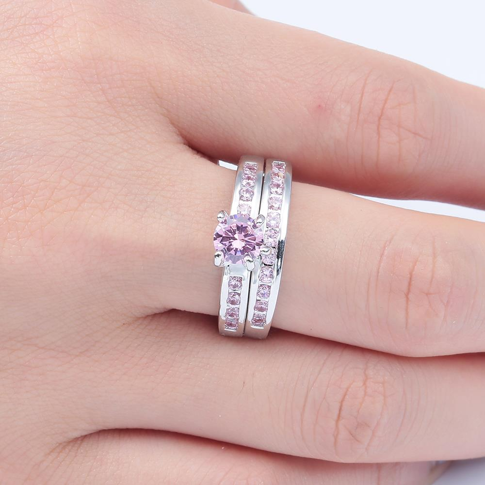 2017 cute promise Rings sets hot cheap jewelry drop shipping ...