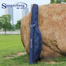High Quality 1.7m Blue Fishing Bag Multi-function Wear-resisting Fishing Bag Large Capacity Lure Rod Fishing Tackle Bag Package