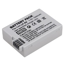 1Pc 7.4V 1500mah LP-E8 LP E8 LPE8 Rechargeable Digital Camera Battery For Canon EOS 600D 650D 550D 700D T4i T5i Rebel T2i