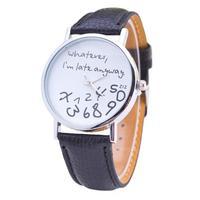 2019 New BN8291 Hot Fashion Casual Geneva Women's Quartz Belt Watch Digital Men's Watch Leather Belt Watch