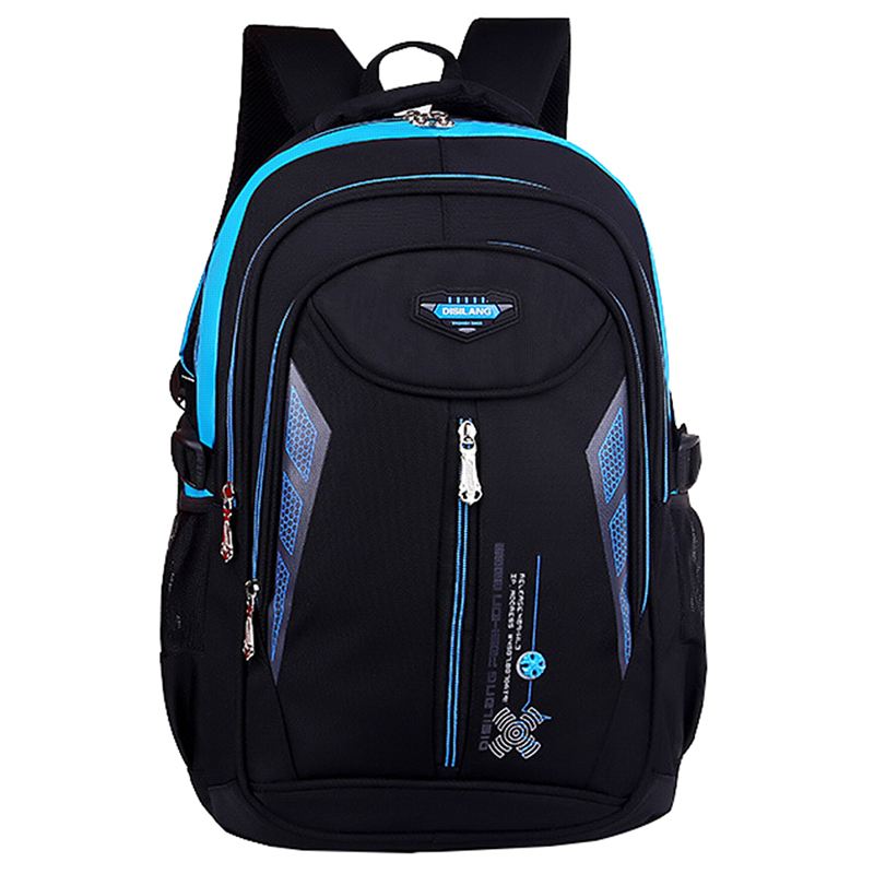New Children Alleviate Burdens Backpack High Quality Middle school Student backpack School bags for teenagers Boys Girls kid bag water bottle