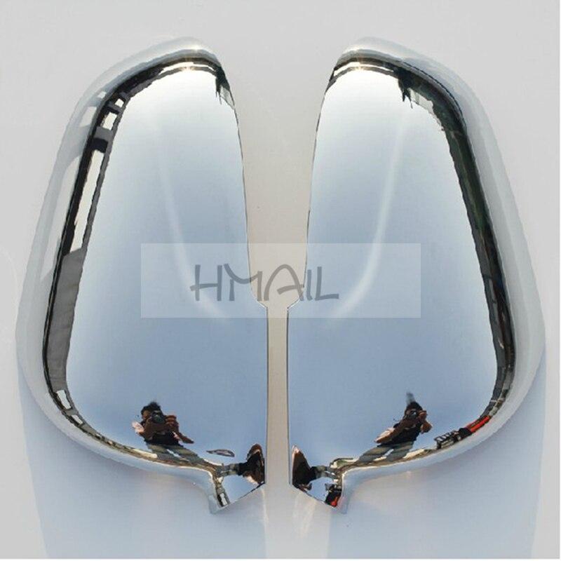 2 PCS ABS Chrome Rétroviseur couverture de miroir pour 2012 13 14 15 CHANGAN CS35, placage miroir décoratif bande de protection couverture autocollants