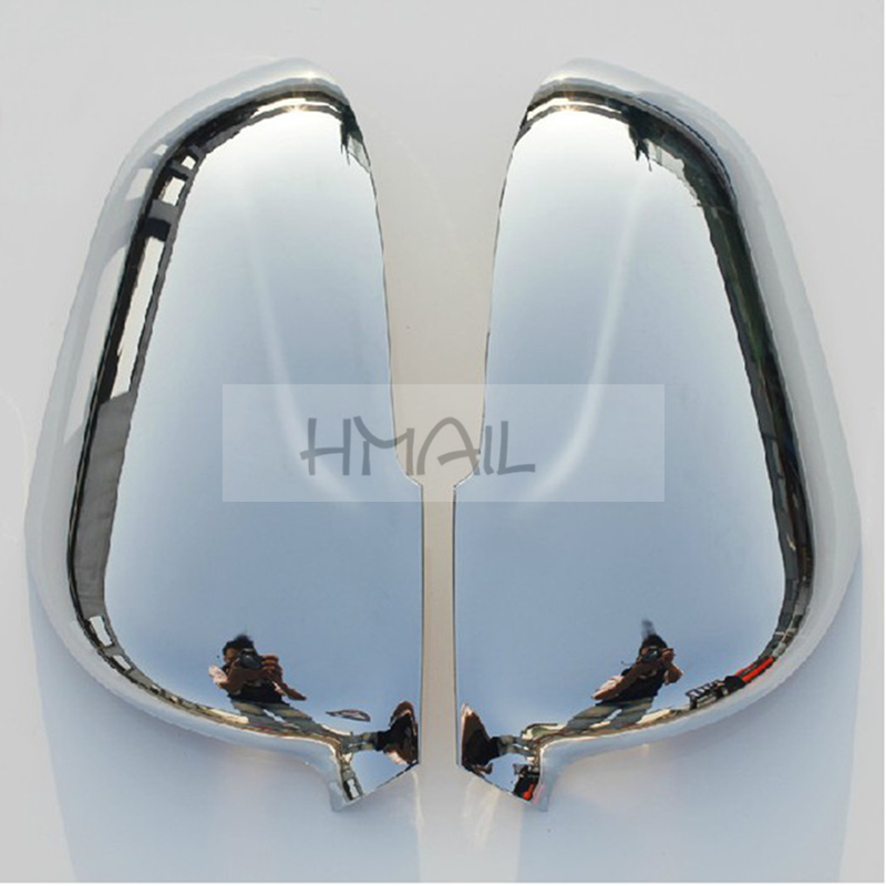 2PCS ABS Chrome Rearview mirror cover for 2012 13 14 15 CHANGAN CS35,plating mirror decorative protective strip cover stickers