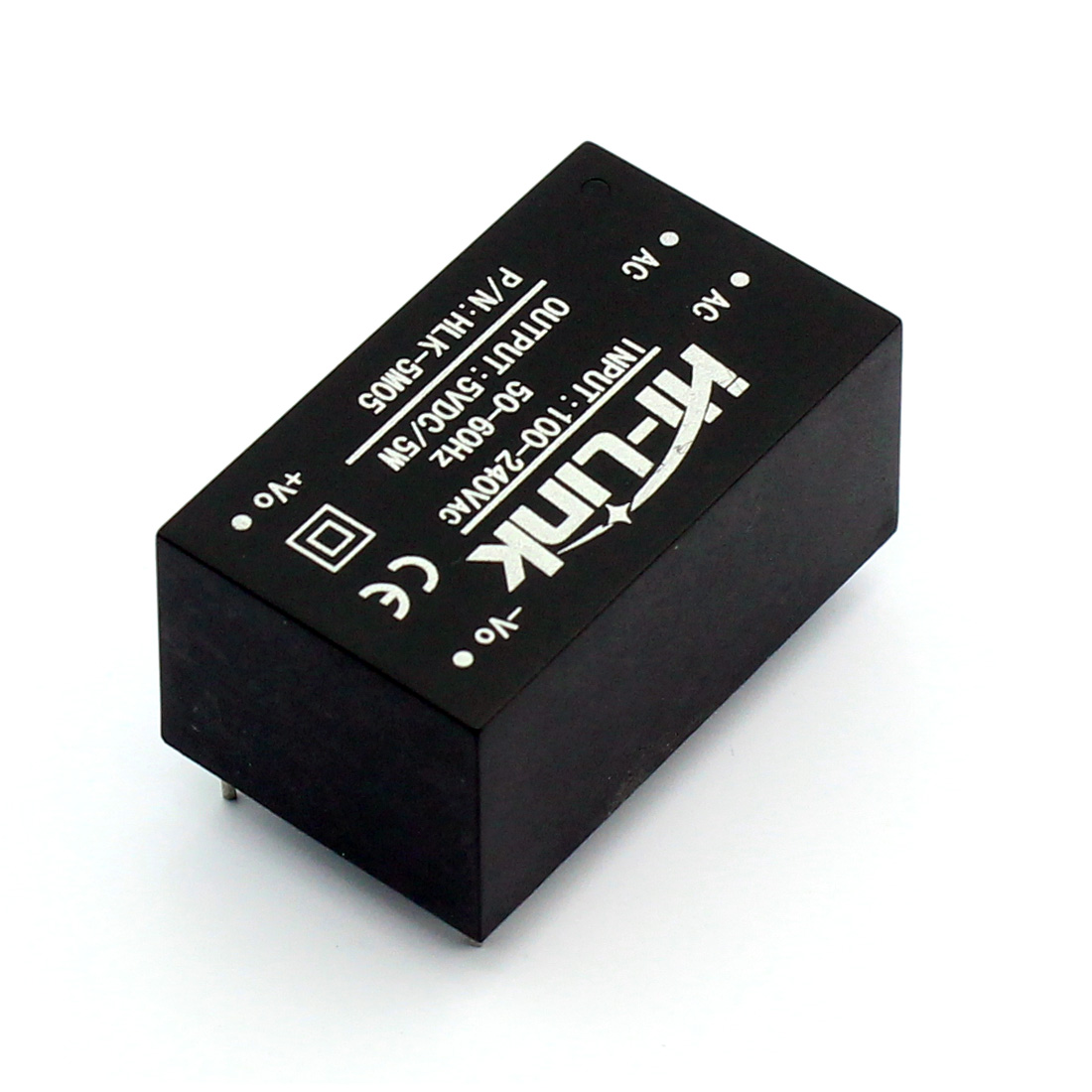 High Quality HLK-5M05 AC DC 220V to 5V 5W 5Watt Isolated Switching Step-Down Power Supply Module Converter HLK 5M05 5pcs white case 90 240v 110 220v ac to 12v step down dc converter led switching power supply module 5w 450ma