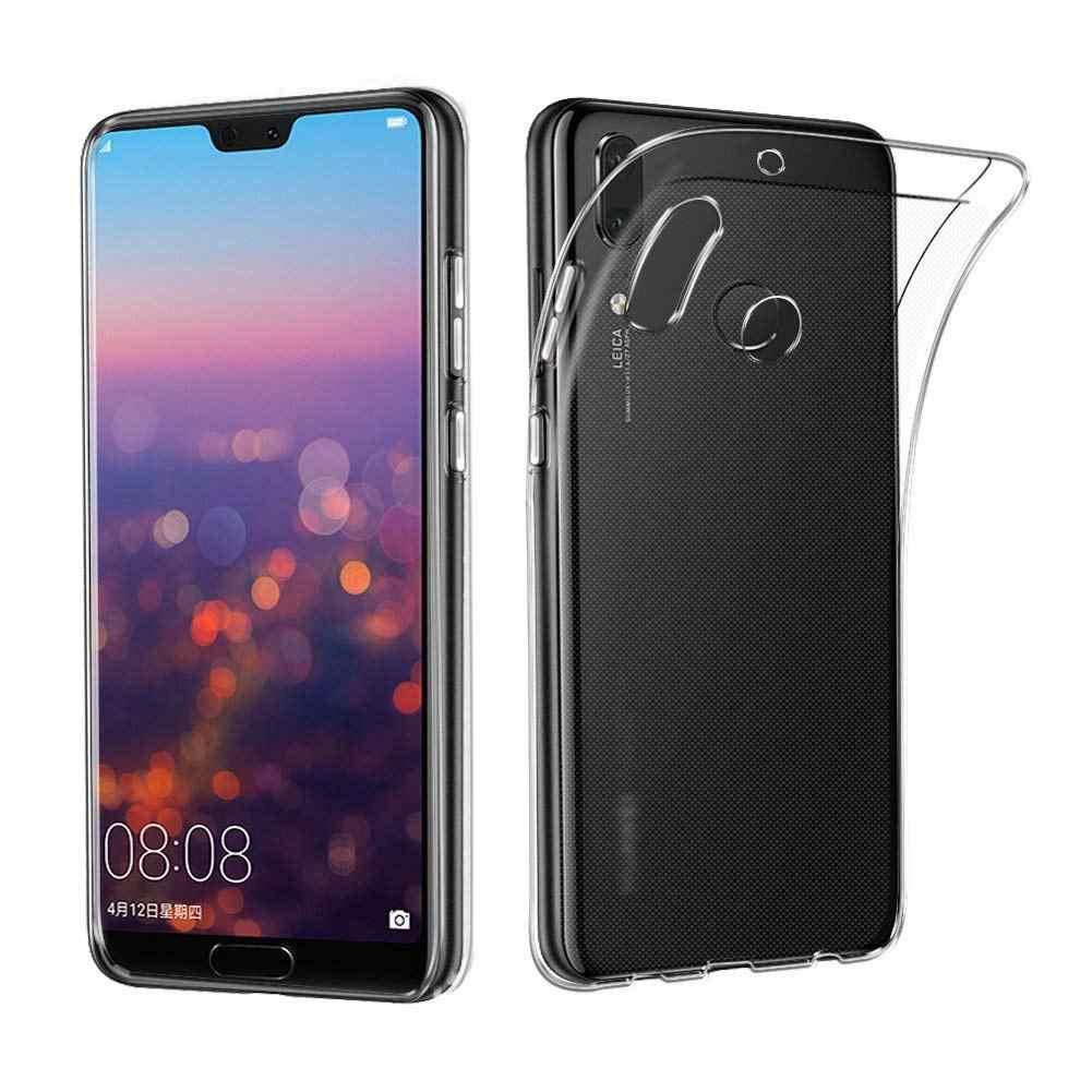 Телефон чехлы для huawei P9 P10 P20 Lite прозрачные ультра мягкая TPU чехол плюс Pro Nova 3E