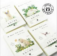 Lovely Rabbit Notebook Gift Diary Note Book Agenda Planner Material Escolar Caderno Office Stationery Supplies GT111