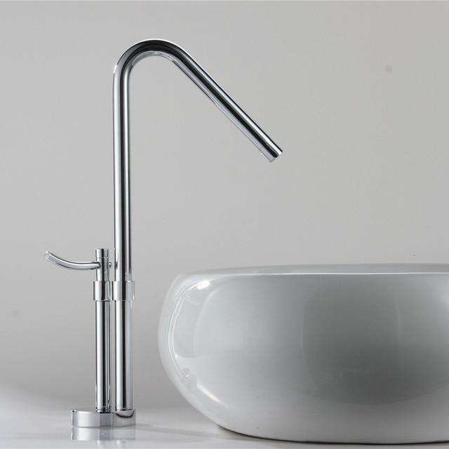 Bevorzugt Neue Design Hoch Becken Wasserhahn Waschbecken mischbatterie 360 KT38