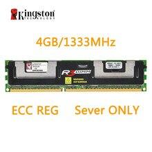 Memória ram kingston reg ecc, memória ram ddr3 4g 1333mhz 240pin 1.5v