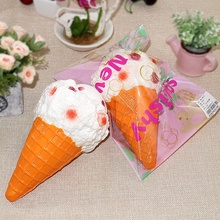 Simulated Food Rebound Toy Ice Cream Big Ice Cream Food Model Props Simulation Food Table Artificial Props Ornaments Display