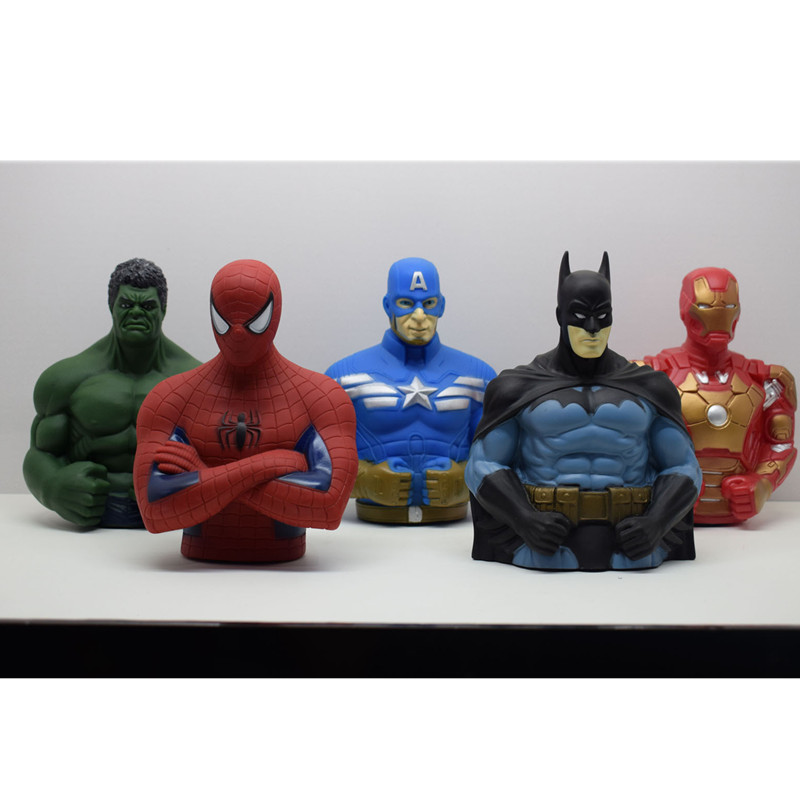 195-cm-font-b-avengers-b-font-superman-iron-man-batman-spider-man-captain-america-hulk-action-figure-collectible-model-piggy-bank-toys-l429