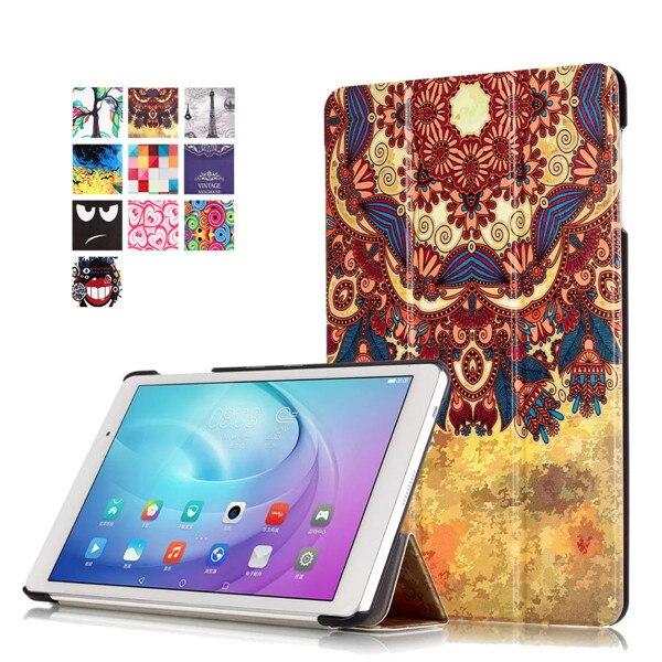 Magnet Smart Flip Cover For Huawei Mediapad T2 Pro 10.0 10 FDR-A01W FDR-A03L Tablet Case Cover For AU Qua Tab 02 HWT31 10.0