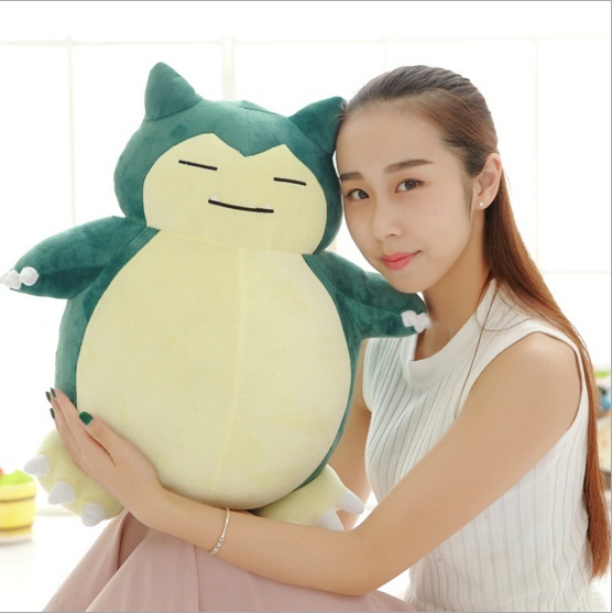 "1pc 12""30cm Low Price Pokedoll Snorlax Plush Toys Lovely Super Soft Anime Plush Dolls Gift For Children"