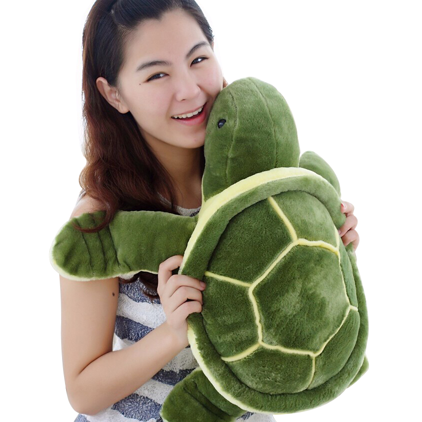 1pcs 40cm/50cm big Size Plush Tortoise Toy Cute Turtle Plush Pillow Staffed Cushion for Girls Vanlentines Day Gift