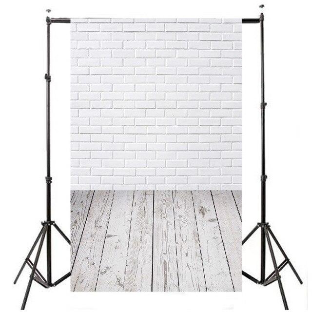 3x5ft Винил Фотографии Фон Для Studio Фотография Реквизит Кирпичная Стена Этаж Фотографические Фоны 90x150 см