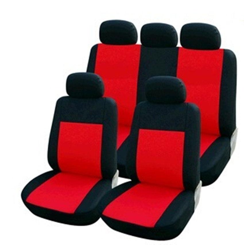 Car Seat Covers Set Universal Fit Most  9Pcs Protecter Lavida Focus Benz ETC Fully Enveloped